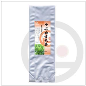 【玄米茶】やぶ北玄米茶500g 1,296円|omuraen