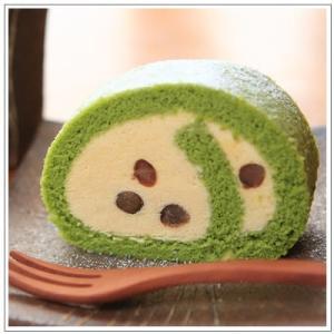 【ロールケーキ】おおむらロール 抹茶ときなこのムース仕立て 1本|omuraen|07