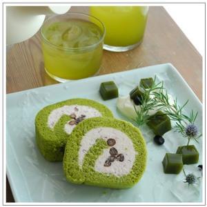 【ロールケーキ】おおむらロール 抹茶と和三盆の生クリーム仕立て 1本|omuraen|07