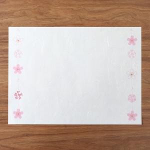 ランチョンマット 手まり桜 5枚入|on-washi