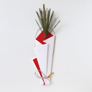 山根式折形 木の花包み 1個入り on-washi