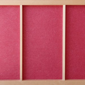 障子紙 おしゃれ インテリア障子紙 カラー和紙 べに 大直|on-washi