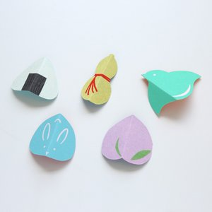 medetaya happy 縁起物 お箸置き 其の二 5個入(ネコポス可)|on-washi