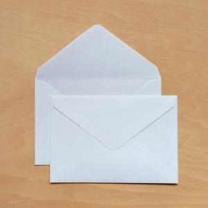 コピー プリンタ用紙 カード用洋1封筒 50枚入大直礼状紙 2つ折カードが入る封筒 on-washi