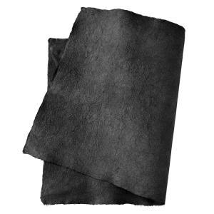 手すき和紙 強制紙 黒(約90cm×60cm 耳付き) on-washi