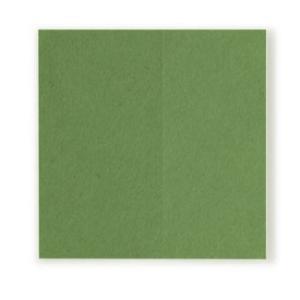 和紙シール 正方形 緑 10枚入(ネコポス可)|on-washi