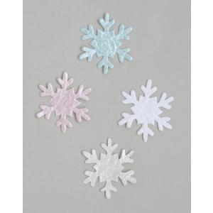 和紙パーツ 冬 雪の結晶(ネコポス可)|on-washi