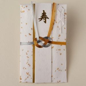 祝儀袋 結婚 手漉き檀紙 金振り 紙幣包み 04052(ネコポス可)|on-washi
