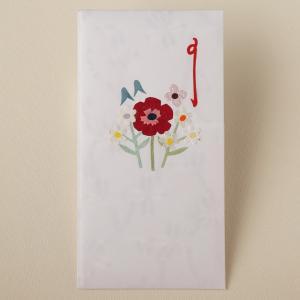 祝儀袋 お祝い フラワーのし袋 カラフル(ネコポス可)|on-washi