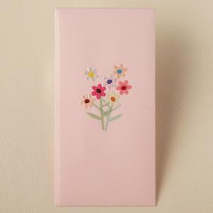 フラワー多当折り 花束 ピンク(ネコポス可)|on-washi