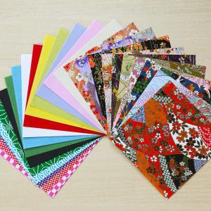 和紙 折り紙(おりがみ)10.5×10.5cm 40枚入(ネコポス可)|on-washi