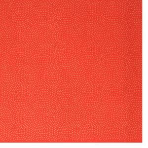 色鳥の子紙 シルク印刷 鮫絞り 赤×金(336-イ) on-washi