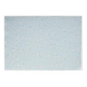 和紙風もみ紙 花しずく ブルー|on-washi