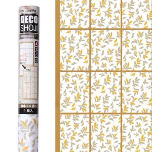 リーフ柄の障子紙です。 強度が4倍(当社比)の破れにくい障子紙に、シンプルな葉っぱ模様を印刷していま...