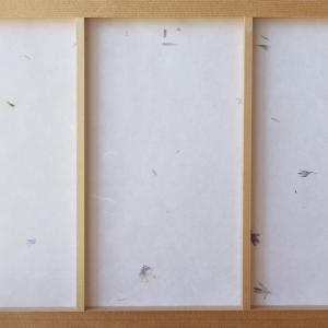 障子紙 おしゃれ 和室の和み障子紙 漉き込み和紙 ハーブ入 大直|on-washi