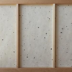 障子紙 おしゃれ インテリア障子紙 カラー和紙(楮皮入り)生成 大直 on-washi