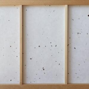 障子紙 おしゃれ インテリア障子紙 カラー和紙〈楮皮入り〉白 大直 on-washi