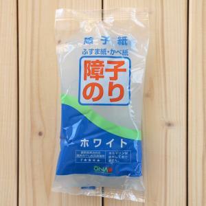 障子紙・壁紙・襖紙に 障子のり ホワイト(障子紙8〜10枚分) 大直 on-washi