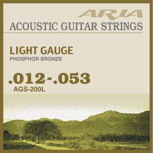 ARIA ( アリア ) AGS-200L (Light) アコースティックギター弦
