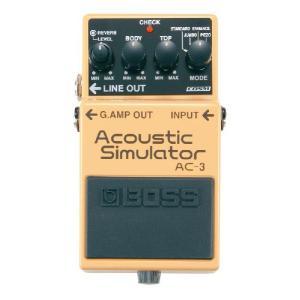 BOSS ( ボス ) AC-3 ( Acoustic Simulator / アコースティック シミュレーター ) エフェクター on-you-music