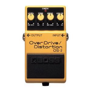 BOSS ( ボス ) OS-2 ( OverDrive - Distortion / オーバー ドライヴ - ディストーション ) エフェクター on-you-music