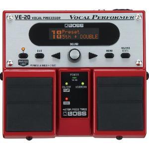 BOSS ( ボス ) VE-20 ( Vocal Processor ) ボーカル エフェクター|on-you-music