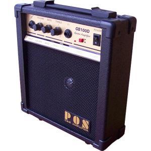 オンユー楽器オリジナルの小型で、薄型のアンプ。 スタンドもついていて、斜めにセットする事も可能。 小...