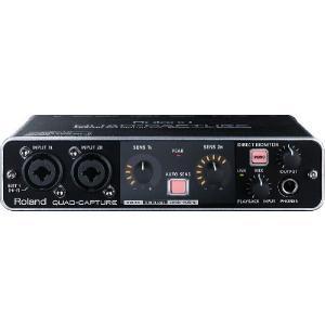 Roland ( ローランド ) QUAD-CAPTURE ( UA-55 ) USB オーディオ インターフェイス|on-you-music