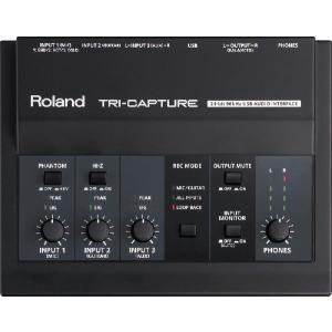 Roland ( ローランド ) TRI-CAPTURE ( UA-33 ) USB オーディオ インターフェイス|on-you-music