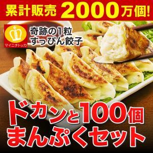 セール 送料無料 奇跡の一粒「すっぴん」餃子100個セット 約1.8kg 餃子 冷凍食品 特産品 名物商品 約18人前 訳あり 大阪 ギフト ぎょうざ
