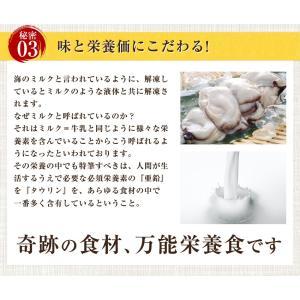 セール あすつく 広島県産2L特大400g牡蠣鍋2-3人前セット 複数購入で牡蠣1.8キロ カキ ギフト お歳暮 海産鍋 名産 特産品 訳あり|once-in|10