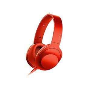 ソニー ヘッドホン h.ear on MDR-100A : ハイレゾ対応 密閉型 折りたたみ式 ケーブル着脱式/バランス接続対応 リモコン・ once20200619