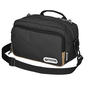 OUTDOOR PRODUCTS (アウトドアプロダクツ) カメラバッグ カメラショルダーバッグ03 2.5L ブラック ODCSB03BK once20200619