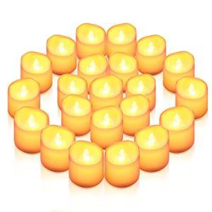 AMIR LED キャンドルライト LEDキャンドル ろうそく 癒しの灯り 揺らぐ炎 リアル感 火を使わない 安全 省エネ 長持ち 便利 お|once20200619