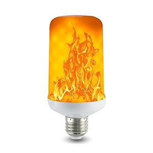 Hansang LED 火炎電球 LED フレームランプ E26口金直径 7W 1500K 火炎効果電球 四つのモード 蝋燭ロウソク 揺らぐ|once20200619