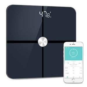 体重計 体組成計 体脂肪計 高精度ITO&BIA技術 体脂肪/体水分/筋肉量/BMIなど多項健康指標 赤ちゃんの体重計算可能 iPhone/|once20200619