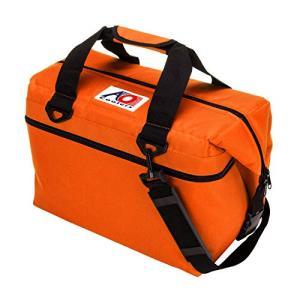 AO Coolers(エーオークーラー) 24 パック キャンバス ソフトクーラー オレンジ 軽量 保冷 クーラーボックス AO24OR (|once20200619