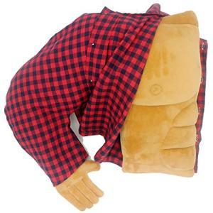 ボーイフレンドの筋肉が腕を抱き、クリエイティブな?生日プレゼント(右の手) (赤い格子縞の服)|once20200619