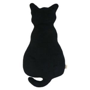 猫 シルエットクッション・低反発クッション・可愛いぬいぐるみ (70cm, 黒い)|once20200619