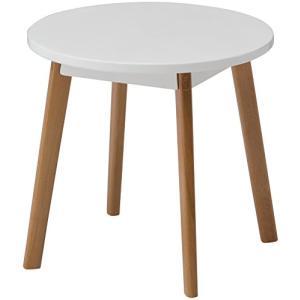 タカショー コトカ サイドテーブル ホワイト 38×38×35cm|once20200619
