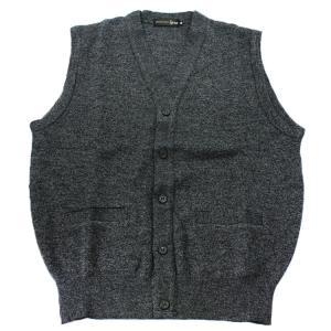 It's so's■日本製 メンズ ベスト ウール100% 洗濯OK  グレー(bis1510-022) oncomshop