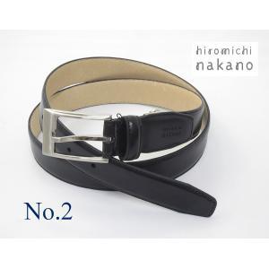 レザーベルト hiromichi nakano 牛革 メンズ 5HN200|oncomshop
