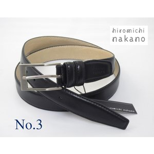 レザーベルト hiromichi nakano 牛革 メンズ 5HN202|oncomshop
