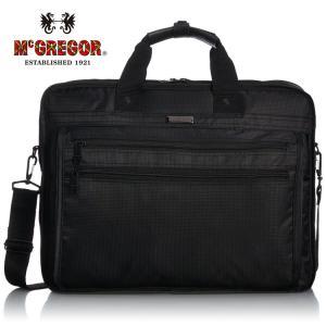 McGregor マックレガー ビジネス バッグ 軽量 メンズ 通勤 3WAY リュックにも 21824 ヤマト宅配|oncomshop