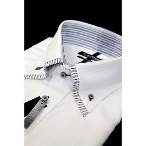 U.P renoma レノマ 半袖 ビジネス シャツ 形態安定加工 綿100% ダブルカラー ドビー織り oncomshop