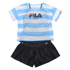 スクール水着 女子 FILA(フィラ) セパレート タンキニ Tシャツ付き スイムウェア fo-120-683【処分品】|one-clothing|04