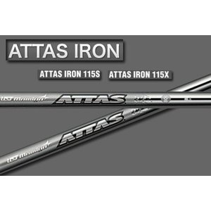 USTマミヤ Attas(アッタス)アイアン 115S / 115SX /リシャフト工賃込み one2one