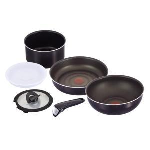 インジニオ・ネオ フィグノワールセット6 アルミ鍋 生活雑貨・キッチン雑貨
