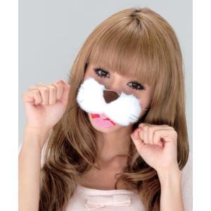 どうぶつのハナ ニャンコちゃん コスチューム コスプレ ネコ 衣装 宴会 仮装 動物の鼻 猫 鼻 oneesan