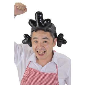 姉さんキャップ かつら かぶりもの キャラクター グッズ コスチューム コスプレ サザエさん パーティー 衣装 宴会 仮装 帽子|oneesan